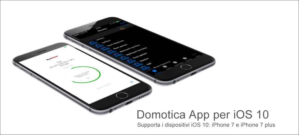 Domotica App for iOS 8